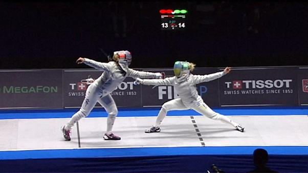 Olga Kharlan triumphiert beim Fecht Grand Prix in Moskau