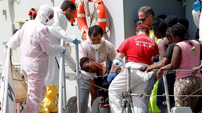 مئات الهاجرين  قضوا غرقا خلال أسبوع  في مياه المتوسط