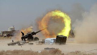 القوات العراقية تدخل الفلوجة حيث سيطرتنظيم الدولة الإسلامية منذ بداية 2014