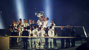Bernabeu lights up as Real Madrid celebrates Champions League victory