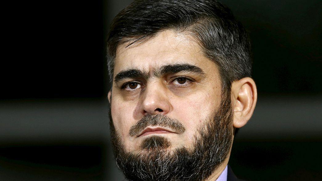 استقالة محمد علوش من هيئة المفاوضات السورية المعارضة