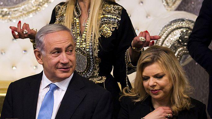 La policía israelí dice que hay pruebas contra la mujer del Primer ministro, Sarah Netanyahu