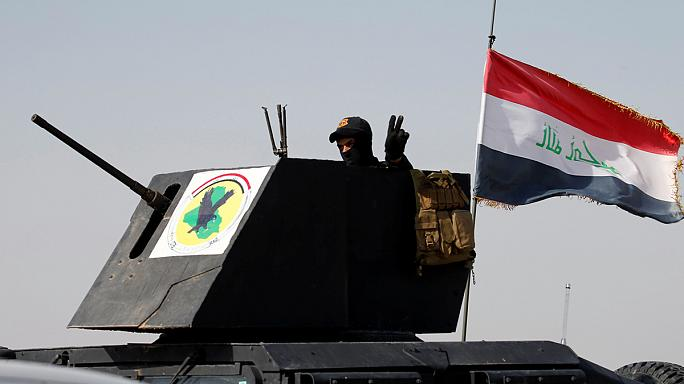 القوات العراقية تبدأ عمليات دخول مدينة الفلوجة