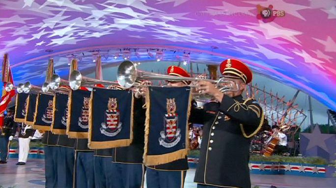 ABD: Geleneksel konserde ordu mensupları anıldı