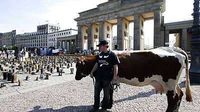 Farmers' protest in Germany