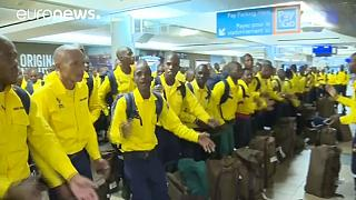 South African firefighters arrive in Canada to help tackle Fort McMurray wildfire