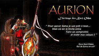 Aurion, le premier jeu vidéo produit en Afrique centrale