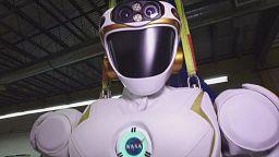 NASA prepares humanoid robots for trip to Mars