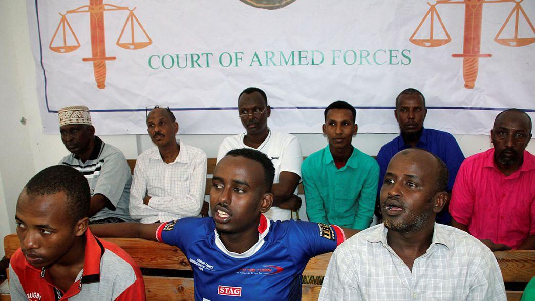 Сомали: озвучены приговоры по делу о взрыве в самолете