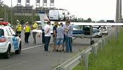 Plane landed on Hungarian highway