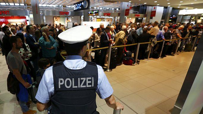 Köln Havaalanı'nda güvenlik paniği