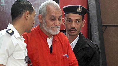 Egypt's Muslim Brotherhood leader handed life sentence
