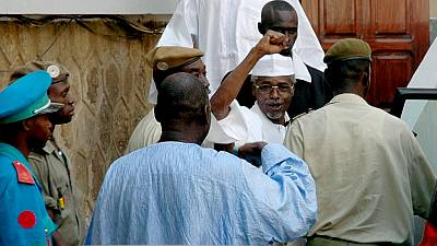 Life sentence of former Chadian leader greeted with cheers