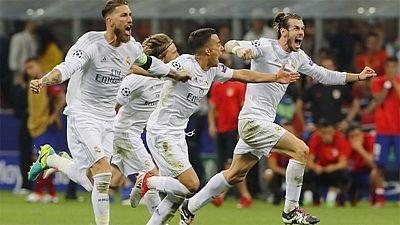 El Santiago Bernabéu recibe a los campeones de Europa