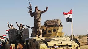 The Iraqi Army enters Falluja