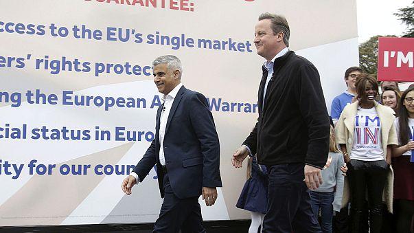 Cameron ve Han Brexit'i engellemek için güçlerini birleştirdi