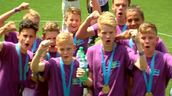 Football for Friendship: Syrian youth team make tournament debut in Milan