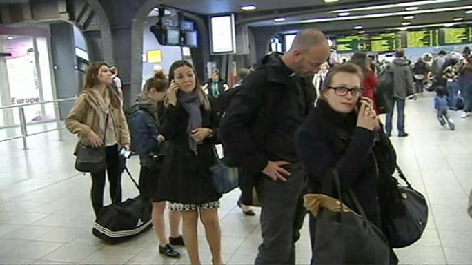 Vasúti sztrájk bénította meg Belgiumot