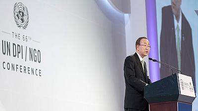 Freedom of NGOs & CSOs under threat even at the UN - Ban Ki-moon