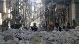 Syria: civilian casualties rise as air strikes hit Aleppo