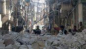 Syria: civilian casualties rise as air strikes hit Aleppo