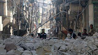 تجدد القصف الجوي المشترك على حلب