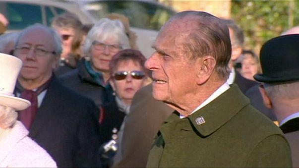 El Príncipe Felipe, baja por motivos de salud