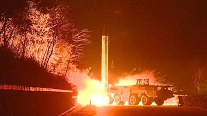Sikertelen rakétakísérlet Észak-Koreában