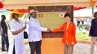 Museveni and S. Korean leader open rural aid project