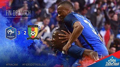 Amical: la France domine le Cameroun (3 - 2)