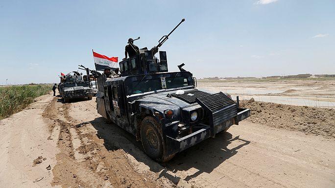 Az iraki hadsereget segítő milicisták