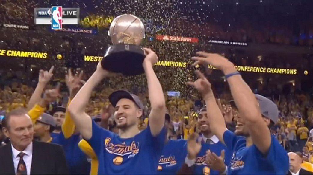 """""""Голден Стейт"""" выиграл Западную конференцию НБА"""