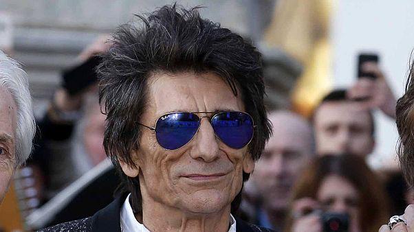 The Rolling Stones'un gitaristi Ronnie Wood'un ikiz heyecanı