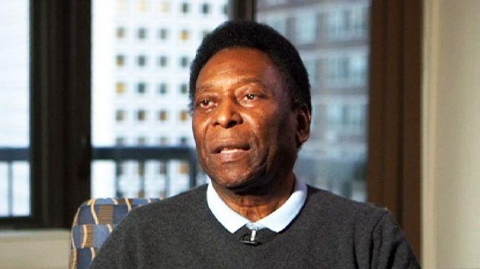 """Pelé subastará sus """"tesoros deportivos"""""""