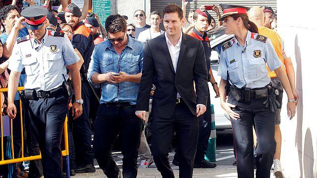 Messi'nin vergi yolsuzluğu davası başladı