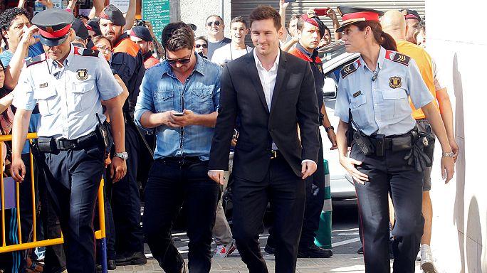 إسبانيا: بدء محاكمة مهاجم البارصا ليونيل ميسي بسبب التهرب الضريبي