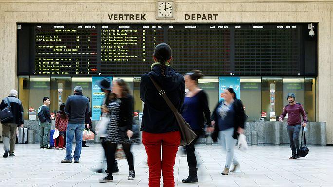 Belgiumot és Franciaországot is sztrájk bénítja meg
