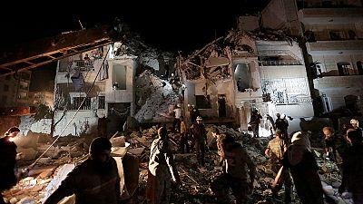 Viele Tote bei Angriffen auf Idlib
