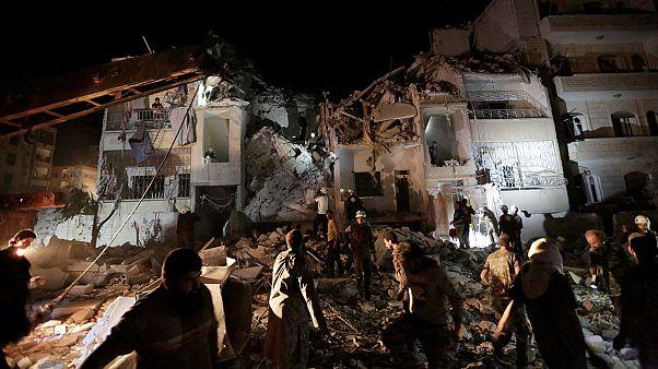 حملات هوایی به ادلب بیش از ۲۰ کشته برجای گذاشت