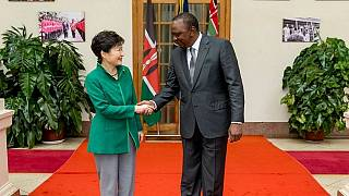 Kenyatta receives South Korean president in Nairobi