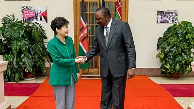 La présidente sud-coréenne en visite officielle de trois jours au Kenya