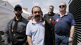 Frankreich: Gewerkschafter gegen Unternehmer