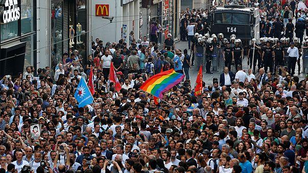 Gezi'nin yıldönümünde küçük çaplı gerginlik