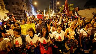 В Лиме прошла акция протеста против возвращения Фухимори во власть