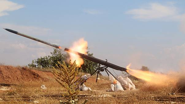 تركيا تقصف مواقع لداعش في حلب