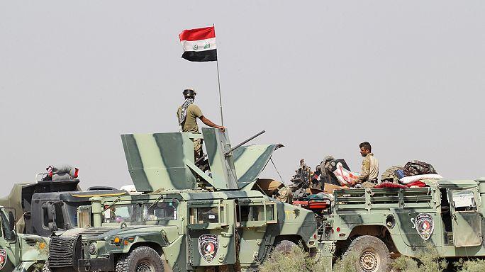 بدء عملية واسعة للجيش العراقي لاستعادة الفلوجة