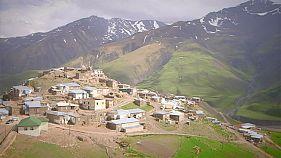 La majesté des montagnes de Khinalug
