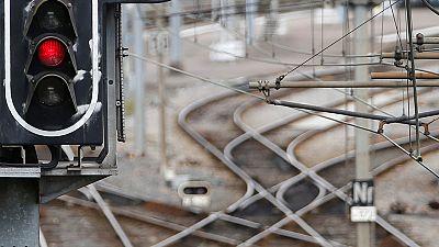 El paro de trenes en Francia alcanza el 17% de participación