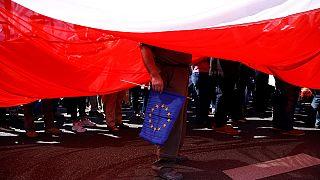 EU warns Poland on rule of law