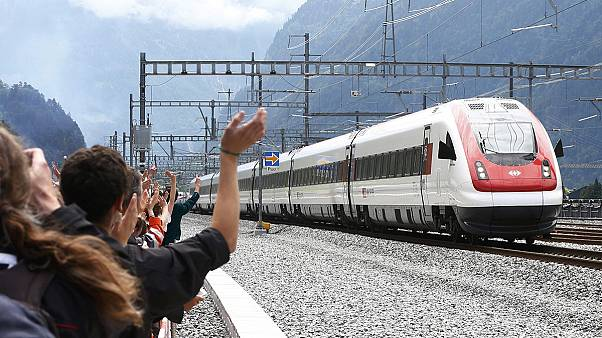 The long road to build the new Gotthard rail tunnel